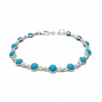 Wonderful Turquoise Gemstone Bazel Bracelets