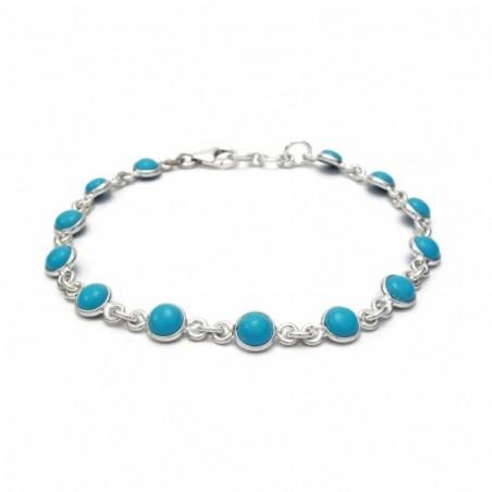 Wonderful Turquoise Gemstone Bazel Bracelets