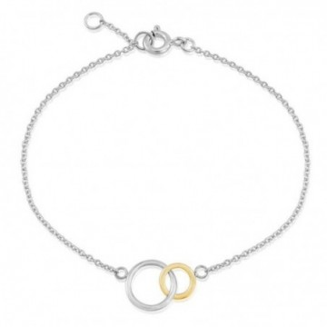 Handcrafted Double Round Ring Plain Bracelets