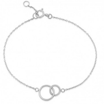 Beautiful Double Round Ring Plain Bracelets