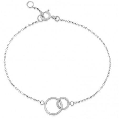 Beautiful Double Round Ring Plain Bracelets