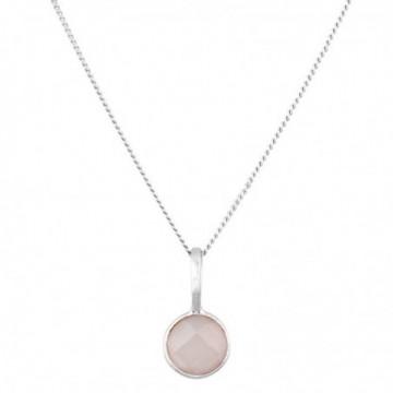 Handmade Rose Quartz Gemstone Necklace