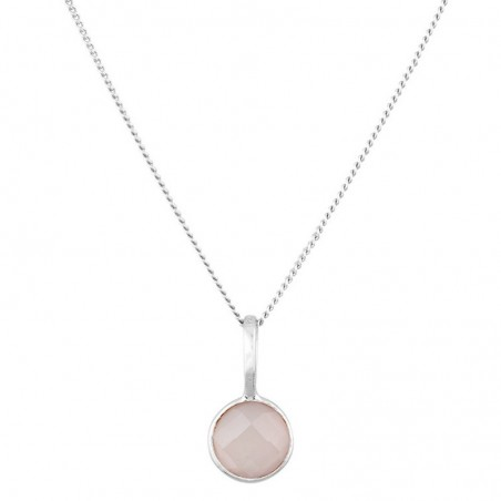 Handmade Rose Quartz Gemstone Necklace