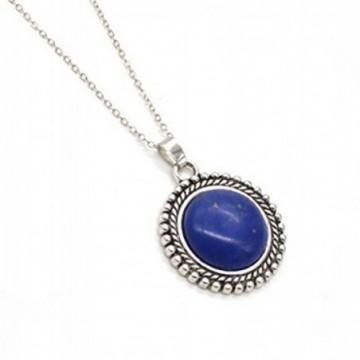 Artisan Crafted Lapis Lazuli Gemstone Necklace