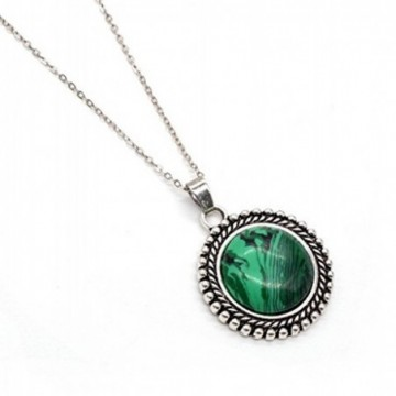 Wonderful Malachite Gemstone Necklace