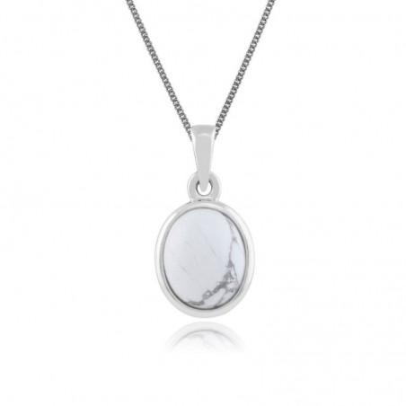 Best Quality Howlite Gemstone Necklace