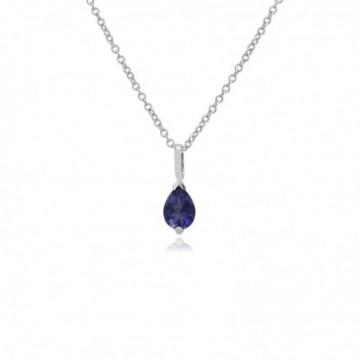 Amazing Design Iolite Gemstone Necklace