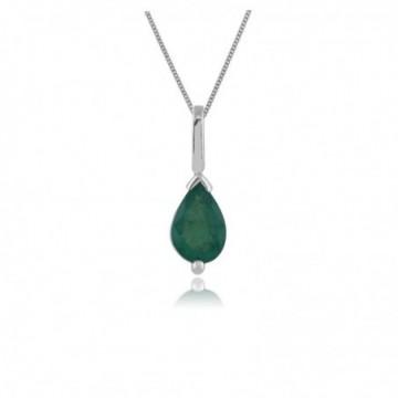 Amazing Design Emerald Gemstone Necklace