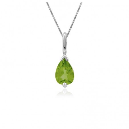 Exclusive Peridot Gemstone Necklace