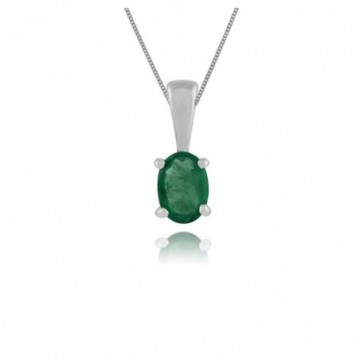 Amazing Design Emerald Gemstone Necklace