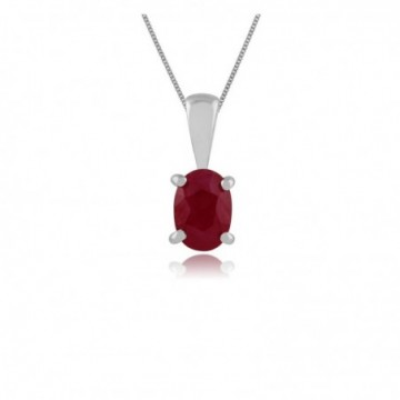 Wonderful Ruby Gemstone Necklace