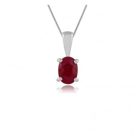 Wonderful Ruby Gemstone Necklace