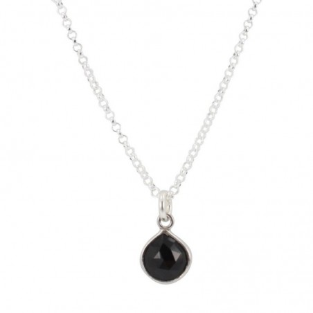 Beautiful Handmade Black Onyx Gemstone Necklace