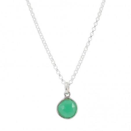 Artisan Crafted Green Onyx Gemstone Necklace