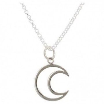 Beautiful Handmade Moon Plain Necklace