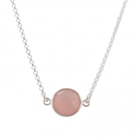 Elegant style Rose Quartz Gemstone Necklace