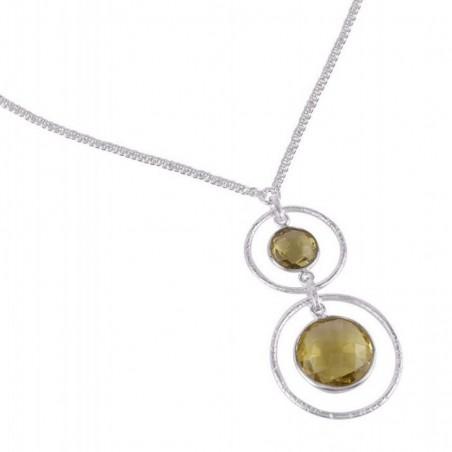 Beautiful Handmade Citrine Gemstone Necklace