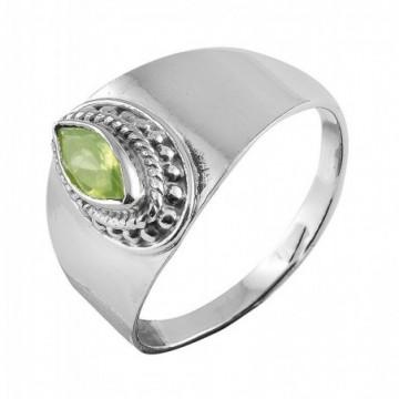 Elegant style Peridot Gemstone Rings