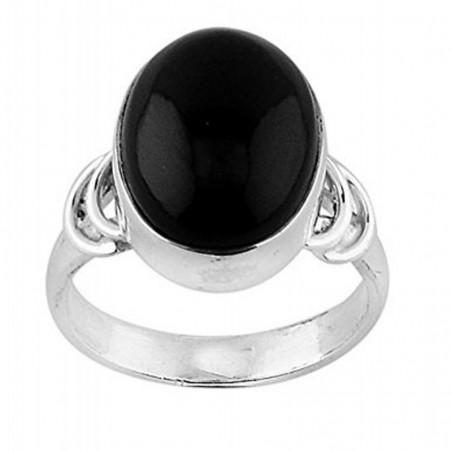 Elegant style Black Onyx Gemstone Rings
