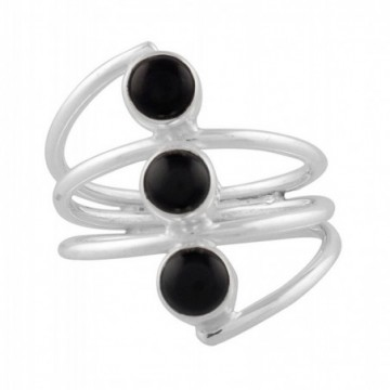 Wonderful Black Onyx Gemstone Rings