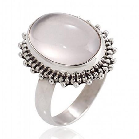 Beautiful Handmade Rose Quartz Gemstone Rings