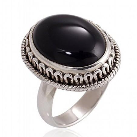 Wonderful Black Onyx Gemstone Rings