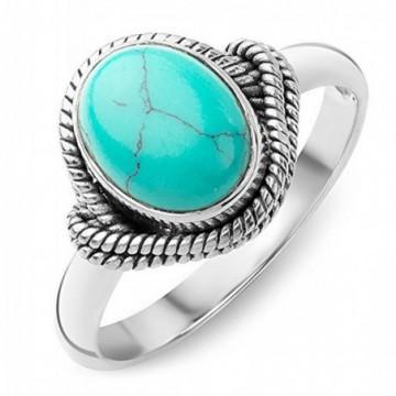 Handmade Turquoise Gemstone Rings