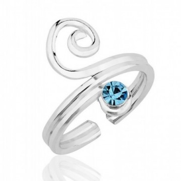 Beautiful Blue Topaz Gemstone Rings
