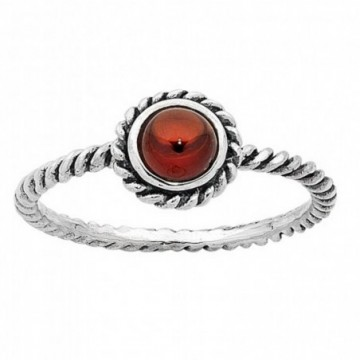 Beautiful Garnet Gemstone Rings