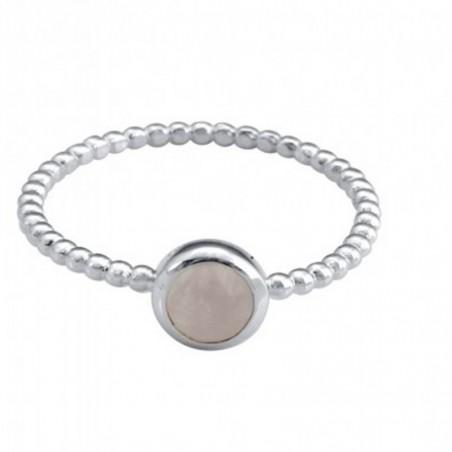 Handmade Rose Quartz Gemstone Rings