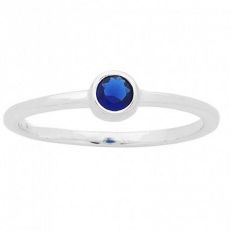 Wonderful Dark Blue Quartz Gemstone Rings