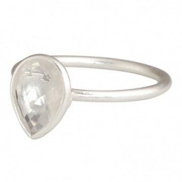 Beautiful Clear Quartz Gemstone Rings