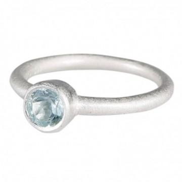 Wonderful Blue Topaz Gemstone Rings