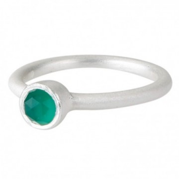 Elegant style Green Onyx Gemstone Rings
