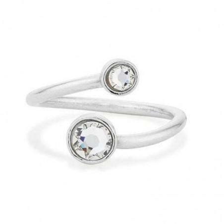 Beautiful Clear Quartz Gemstone Rings