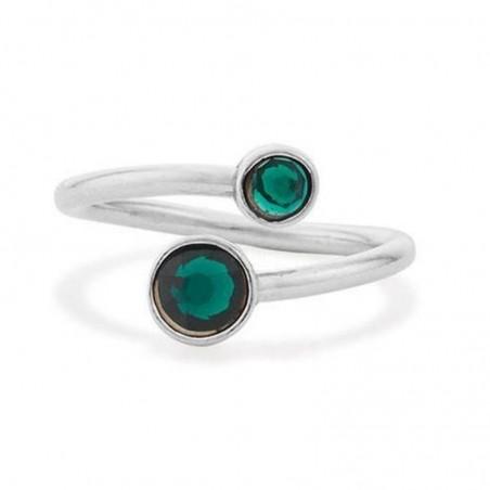 Beautiful Green Quartz Gemstone Rings