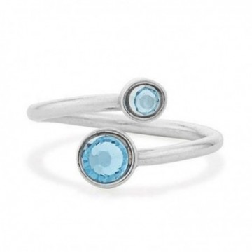 Handcrafted Blue Topaz Gemstone Rings