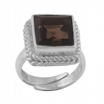 Wonderful Smokey Quartz Gemstone Rings