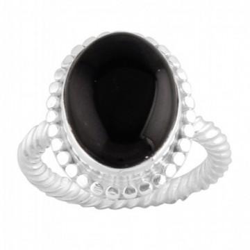 Handcrafted Black Onyx Gemstone Rings