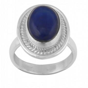 Elegant style Lapis Lazuli Gemstone Rings