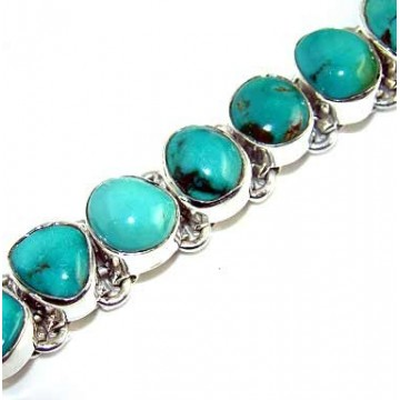 Bracelet with Turquoise Gemstones