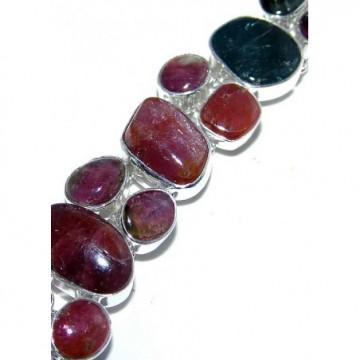 Bracelet with Rhodonite Gemstones
