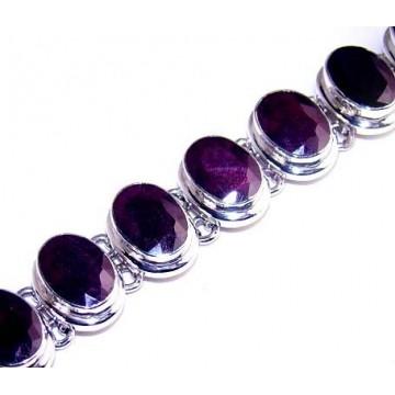Bracelet with Ruby Gemstones
