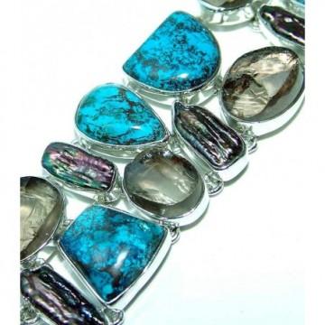 Bracelet with Azurite Gemstones