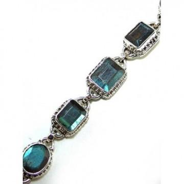 Bracelet with Labradorite Gemstones