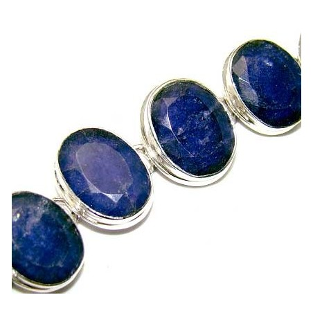 Bracelet with Sapphire Gemstones